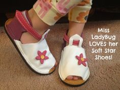 Kids will Love the Soft Soled Shoes from Soft Star Shoes