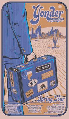 yonder mountain string band poster - Google Search