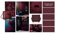 Orchids loft: Tawny Port by Pantone