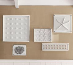 $120 on clearance? I thinkI could make my own... Starfish Shadow Box | Pottery Barn