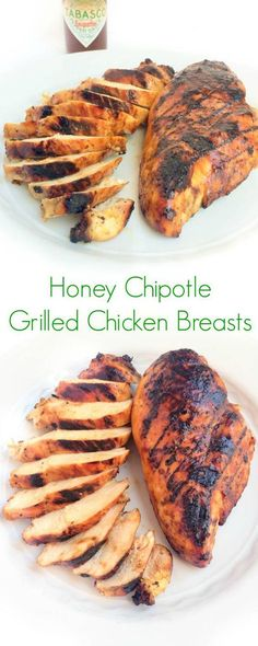 Honey Chipotle Grilled Chicken Breasts - The Lemon Bowl