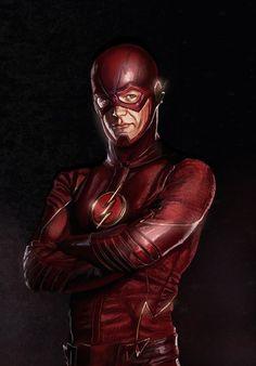#Flash #Fan #Art. (The Flash Digital Illustration) By: Rou-man. (THE * 5 * STÅR * ÅWARD * OF: * AW YEAH, IT'S MAJOR ÅWESOMENESS!!!™)[THANK Ü 4 PINNING<·><]<©>ÅÅÅ+(OB4E)