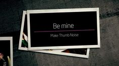 "2NE1 - ""Make Thumb Noise"" Project (Round 2-1)_Be mine_kor (+playlist)"