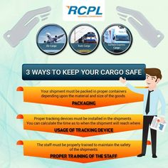 3 ways to keep your cargo safe!!