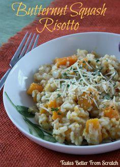 Butternut Squash Risotto on MyRecipeMagic.com