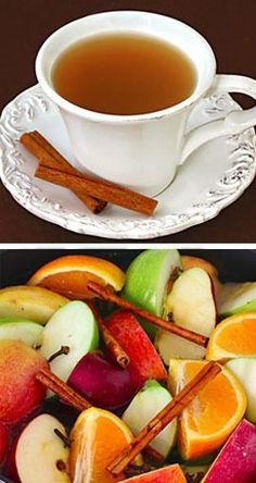 Homemade Apple Cider -- It's so easy to make delicious apple cider from scratch, plus you can control the amount of sugar and it will make your home smell AMAZING!  gimmesomeoven.com