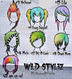 Wild Styles Part 2 by Rainb0w-Rand0m.deviantart.com on @deviantART