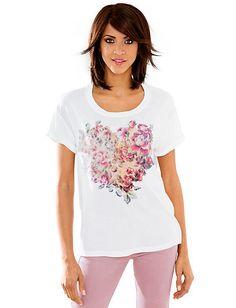 Linea Tesini - Druckshirt bunt im Heine Online-Shop kaufen