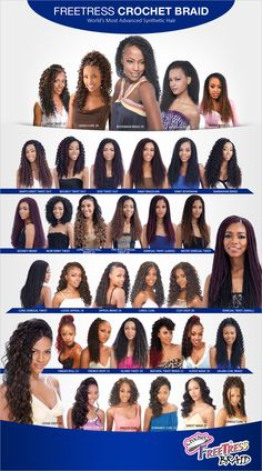 FreeTress Synthetic Hair Crochet Braids