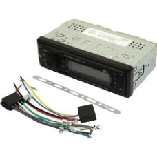 Radio FM / AM Receiver / MP3 Player / USB / SD MMc / AUX point <br> Mp3 Player, Sd
