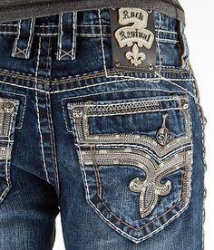 Rock Revival Teddy Slim Straight Jean