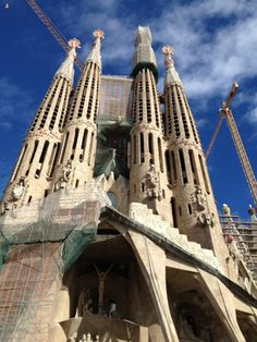 I never got to visit the last time I was in Europe, but I want to see the Sagrada Familia church, along with other pieces of architecture by Antoni Gaudi.