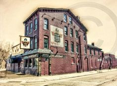 Anchor Bar Restaurant, Home to Original Chicken Wings - Main Street, Buffalo NY Buffalo Art, Buffalo New York, Mother Teressa, Fort Erie, New York Buildings, Best Wings, Missing Home, New York Photography, Historical Images