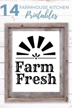 Grab these Farmhouse Kitchen Printables for all your farmhouse decor needs.  #farmhousedecor #farmhouseprintables #farmhousekitchen Farmhouse Style Decorating, Decorating Your Home, Farmhouse Decor, Farmhouse Rules, Diy Home Decor, Elegant Home Decor, Popular Recipes, Living Room Modern, Living Room Decor