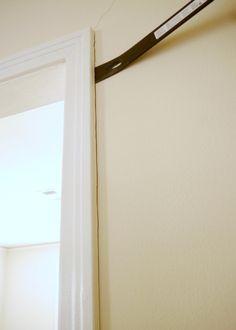 How to build a pocket door