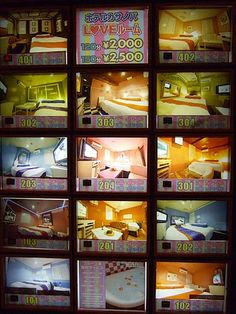 Love hotel rooms guide