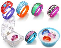 switcheroo interchangeable plastic-rings by swelldesigner, via Flickr  pretty cool XD