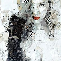 Bildergebnis für kunst collagen