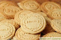 Biscuits au citron et aux amandes !