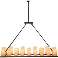 Pendant Lamp Candle Light 20-lite - KARE Design