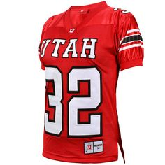 University of Utah Throwback Jersey. Available in Men's, Women's and Kid's sizes. #goutes #universityofutah #shopred