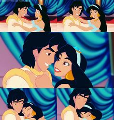 Day 6: Favorite Hero. Aladdin! He and Phillip are tied for my favorite prince as well, but he's definitely a hero. He's also selfless, quick-witted, courageous, and I love he and Jasmine's relationship. They're seriously the cutest Disney couple ever! Just look at him. Guh. I can't even...