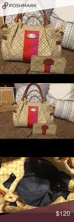 Kate Spade bag and wallet Good condition. Bag and matching wallet. kate spade Bags