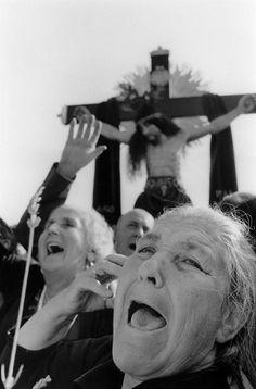 Peñas de San Pedro (Albacete) 1978. Heaquilahistoria : Cristina García Rodero