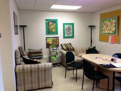 Teacher's Lounge Before