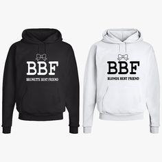 Blonde Best Friend & Brunette Best Friend Matching by NYCApparel
