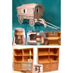 Minimum World MQ075 - 1:12 Scale Caravan Kit