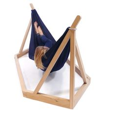 The Dissidence Hammock Puts Standard Comfy Chairs to Shame #hammocks trendhunter.com Unique Furniture