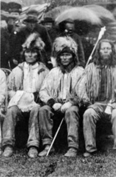 Okanogan Tribe - Now a part of the Colville Confederated Tribes
