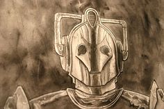 Cyberman WIP05 by Ben Templesmith, From the archives of the Timelords and Whovians