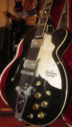 #1961 #Kay  #Vintage #Airline #Barney #Kessel #Stereo #Kelvinator #Archtop #Electric Black > #Guitars : Archtop Electric & Acoustic - Rivington Guitars | Gbase.com