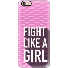 Fight like a girl, breast cancer awareness - iPhone 6s Case,iPhone 6 Case,iPhone 6s Plus Case,iPhone 6 Plus Case,iPhone 6 Cover,Clear iPhone 6 Case,Cl