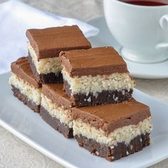 Queen Anne Squares have been one of the most popular Newfoundland cookie bars ever on Rock Recipes; a scrumptious combination of coconut and chocolate.