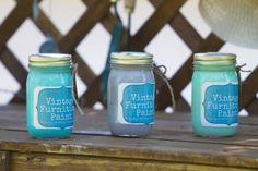 Island Blue, Versailles Grey, Mint Julep