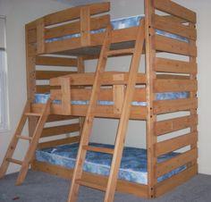 L Shaped Loft Jake S Amish Furniture Lb7482 L Shaped