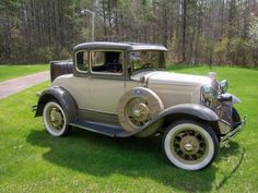 1930 Ford Model A Deluxe Coupe -