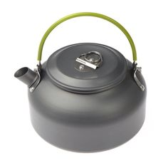 TOOGOO(R) 0.8L Portable Ultra-light Outdoor Hiking Camping Survival Water Kettle Teapot Coffee Pot Anodised Aluminum -- You can get more details by clicking on the image.