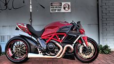 RocketGarage Cafe Racer: Ducati Diavel Drag Bike
