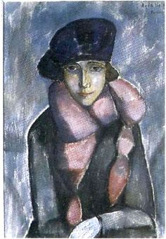 Agda Holst - Parisiska II, 1921