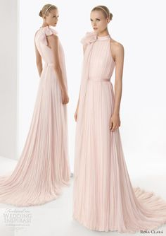 Rosa Clara Pink Wedding Dress 2013 Bosco