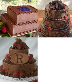 Mimi-this one's Auburn, but this is the gen design for the Alabama groom's cake only it has choc dipped strawberries on the corners....