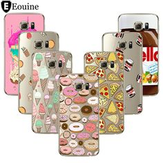 Pizza Cover For Coque iPhone 7 4 5C 5 5S 6 6S 7 Plus Case Coque For Samsung Galaxy S3 S5 S6 S7 Edge Grand Prime J3 J5 A3 A5 2016