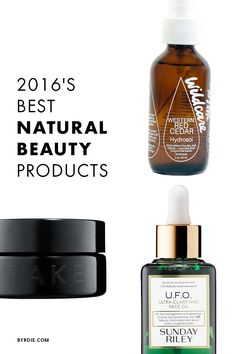 The best-selling natural beauty products of 2016