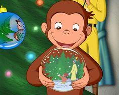 CURIOUS GEORGE: A Very Monkey Christmas Movie Night