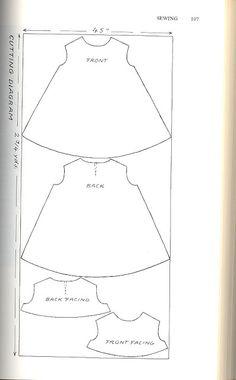 DIY Trapeze Dress