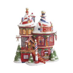 Amazon.com - Department 56 North Pole North Pole Beard Trimmers - Holiday Figurines